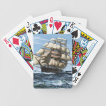 Cutty Sark vintage ships Bicycle Poker Cards