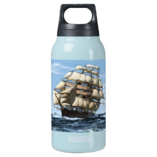 Cutty Sark vintage ships 10 Oz Insulated SIGG Thermos Water Bottle