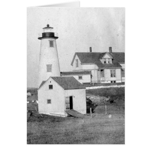 Cuttyhunk Lighthouse Card