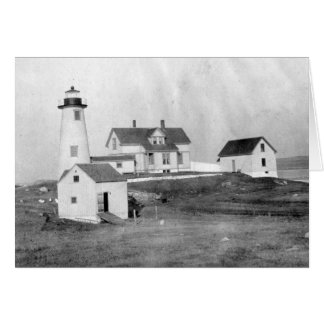 Cuttyhunk Lighthouse Greeting Card