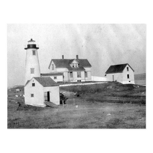 Cuttyhunk Lighthouse Postcards