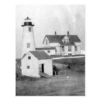 Cuttyhunk Lighthouse Postcard