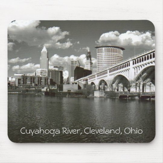 Cuyahoga River, Cleveland Ohio Mouse Pad