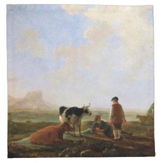 Cuyp's Herdsmen cloth napkins