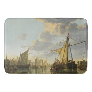 Cuyp's The Maas art bath mat