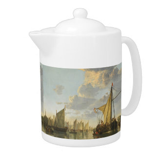 Cuyp's The Maas art teapot