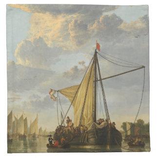 Cuyp's The Maas cloth napkins