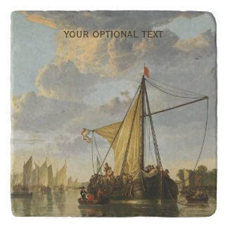 Cuyp's The Maas custom stone trivets