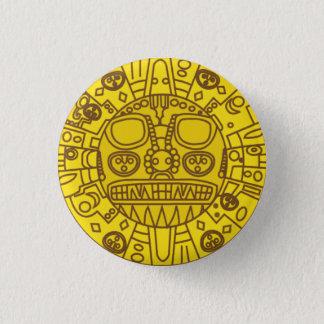 Cuzco Coat of Arms 3 Cm Round Badge
