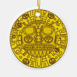 Cuzco Coat of Arms Christmas Ornament