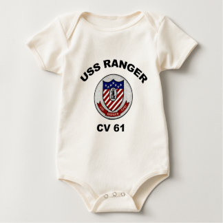 CV 61 Ranger Baby Bodysuit