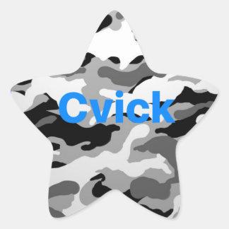 CVikk sticker   camouflage
