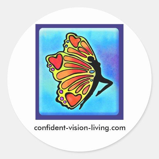CVL Round Sticker