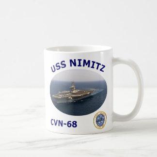 CVN 68 Nimitz Photo mug