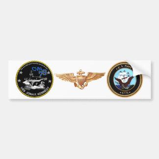 CVN-79 USS John Kennedy Bumper Sticker