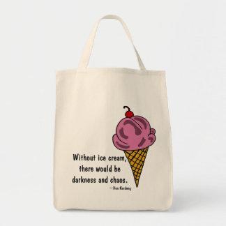 CW- Funny Ice Cream Tote Bag