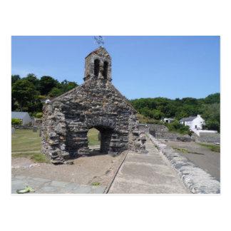 Cwm-yr-Eglwys. Pembrokeshire. Postcard