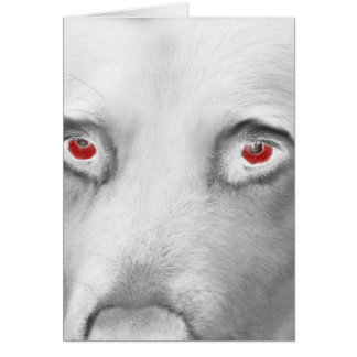 Cwn Annwn - Welsh Otherworldly Dogs of Death Greeting Card