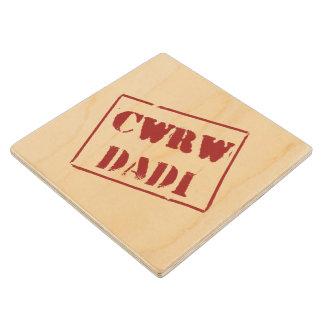Cwrw Dadi (Welsh) Wood Coaster