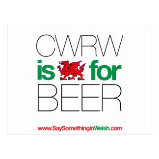 CWRW POSTCARD