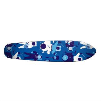 CWS Astro Rock-Blue 21.6 Cm Skateboard Deck