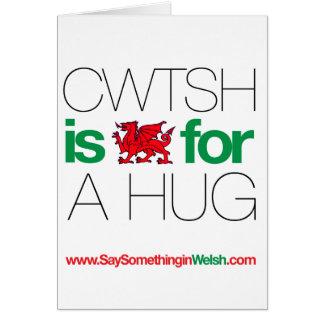 CWTSH GREETING CARD