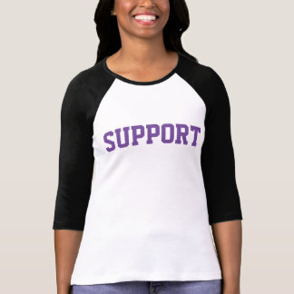 CX support lady 3/4 sleeve T-Shirt