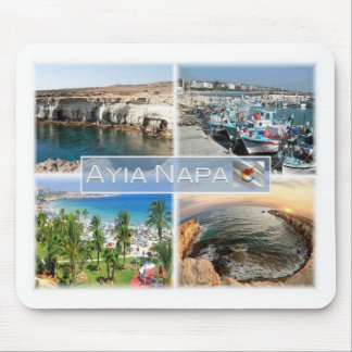CY Cyprus - Ayia Napa - Caves Port - Mouse Mat