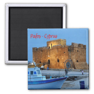 CY - Cyprus - Pafos - Byzantine Forte Magnet