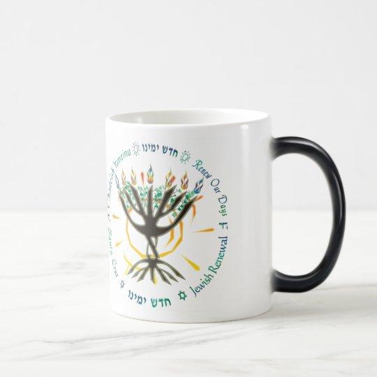 "CY logo ""morphing"" mug"