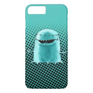 cyan blue alien funny cartoon iPhone 7 plus case