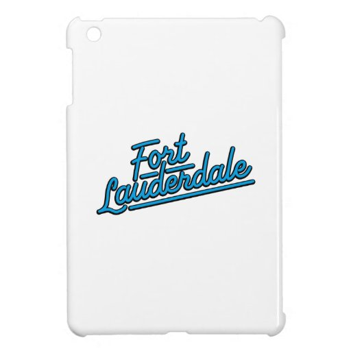 cyan Fort Lauderdale Cover For The iPad Mini