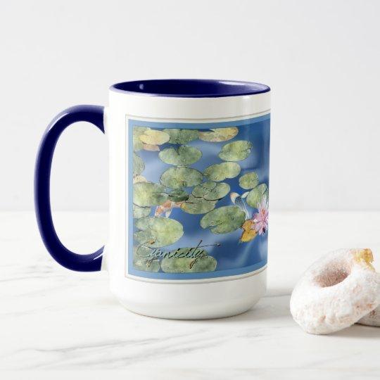 Cyanicity Koi Pond Coffee Mug