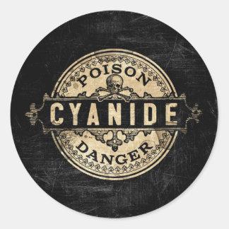 Cyanide Vintage Style Poison Label