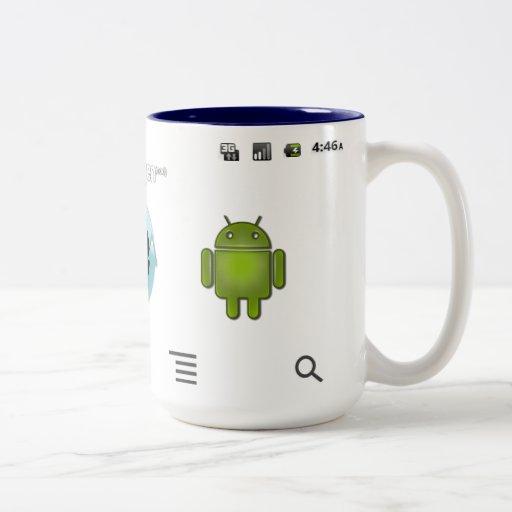 Cyanogen Android Launcher Mug
