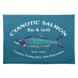 Cyanotic Salmon Bar & Grill Placemats