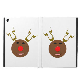 Cyber Christmas Reindeer iPad Case