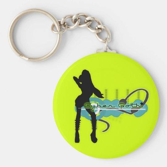 Cyber Goth Keychain