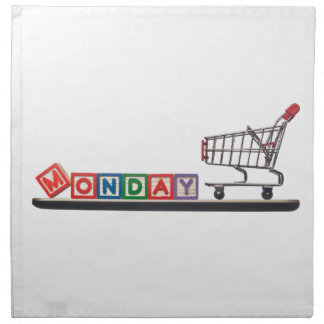 Cyber Monday Cloth Napkin