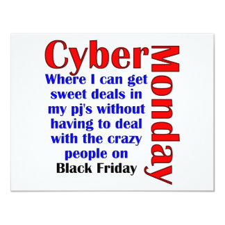 Cyber Monday Personalized Announcements