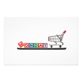 Cyber Monday Personalized Stationery