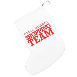 Cyber Monday Shopping Team -- Holiday Humor