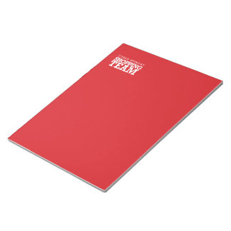 Cyber Monday Shopping Team Memo Note Pad