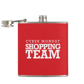 Cyber Monday Shopping Team Flask