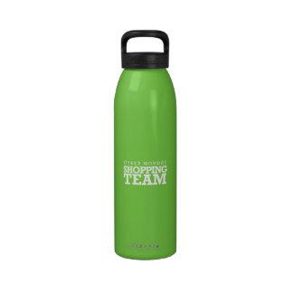 Cyber Monday Shopping Team Reusable Water Bottles