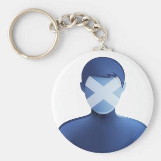 Cyber Nat Key Ring