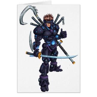 Cyber Ninja Card