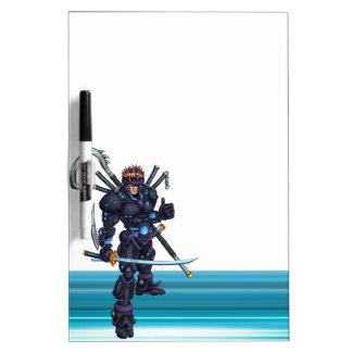 Cyber Ninja Dry Erase Board