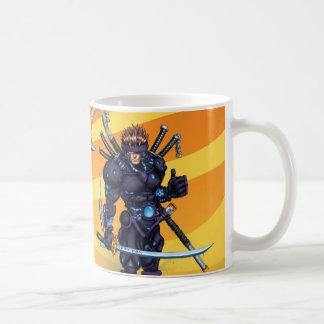 Cyber Ninja Coffee Mug