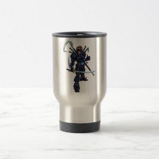 Cyber Ninja Stainless Steel Travel Mug